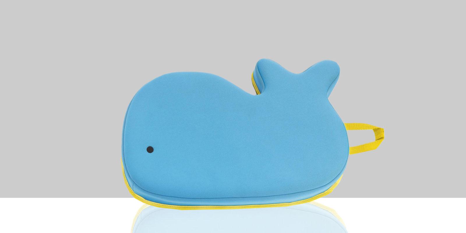 Baby Bathroom Accessories - Whale bath kneeler