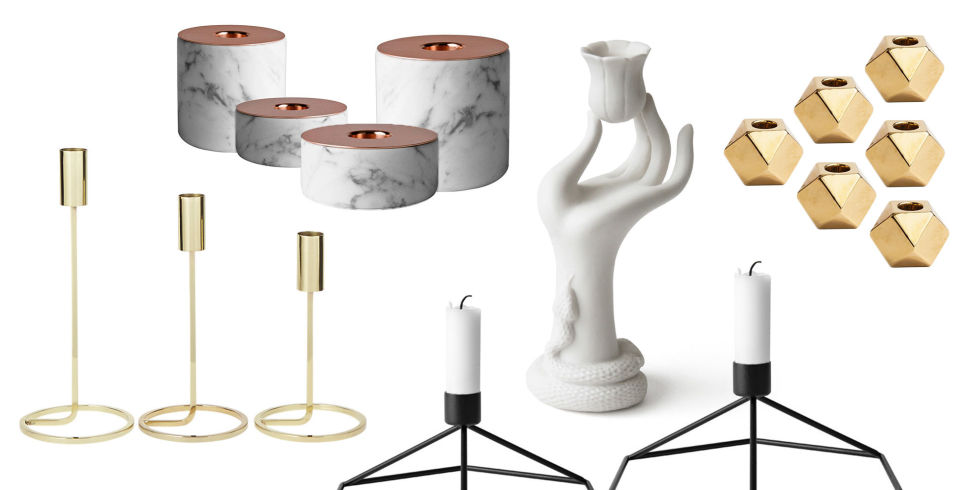 13 Stylish Taper Candle Holders in 2017 Best Decorative Tall