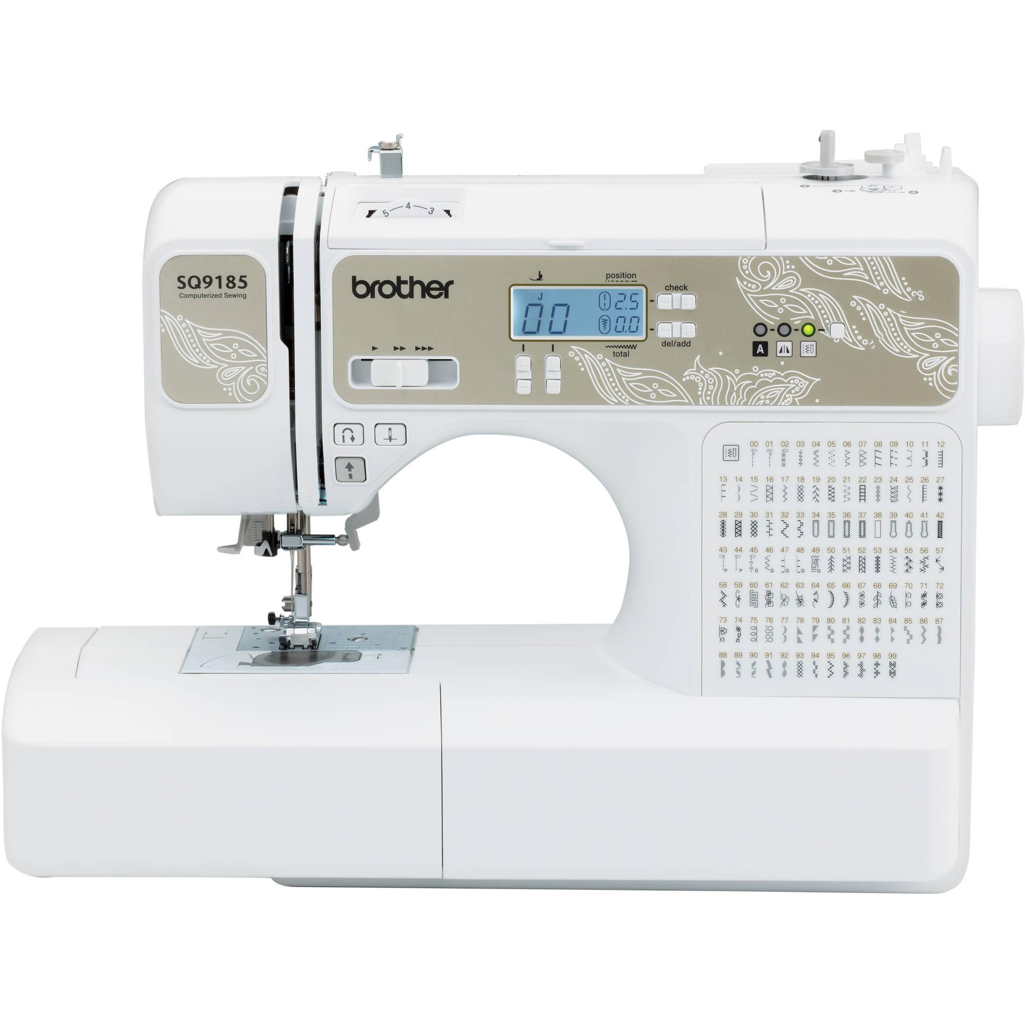 best sewing machine for quilting 2016