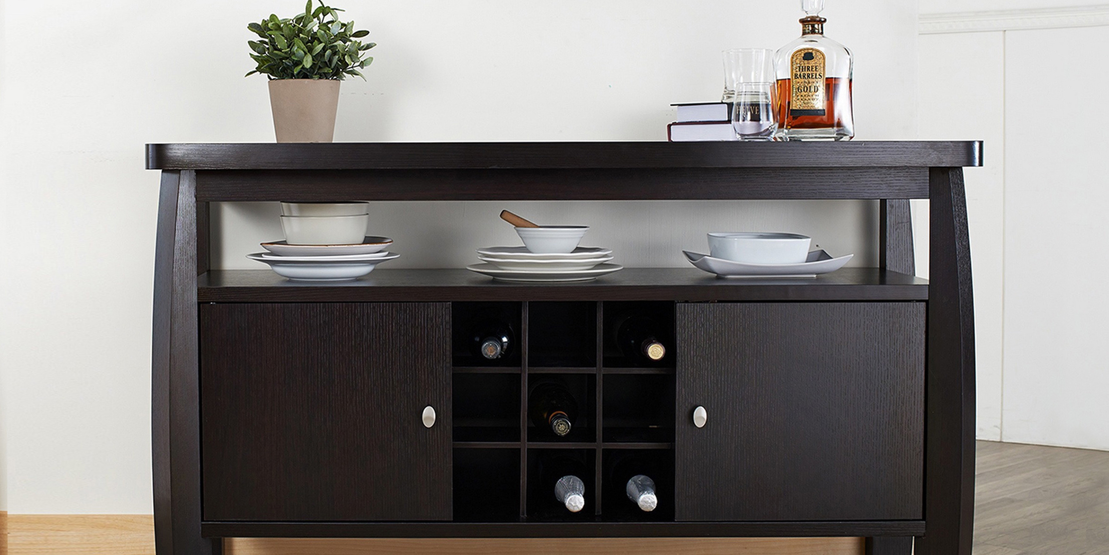 11 best sideboards and buffets in 2018 reviews of for Dining room buffet