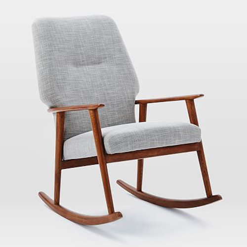 9 Best Rocking Chairs in 2018 - Modern Chic Wooden and Upholstered Rocking  Chairs