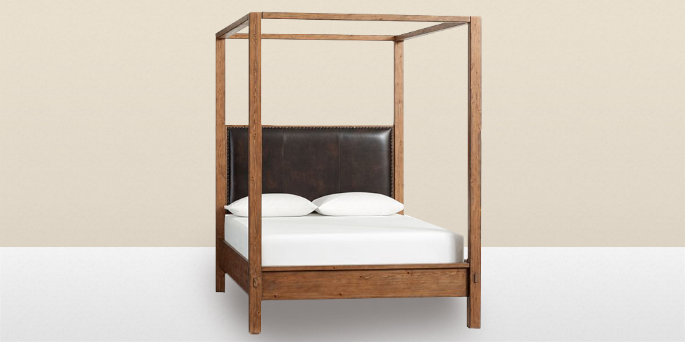 Four poster bed canopy frame