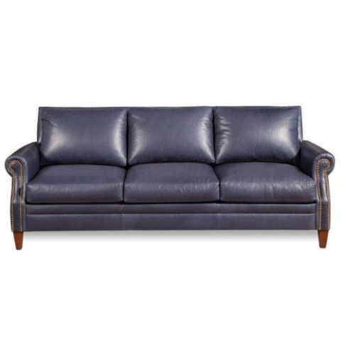 One Kings Lane Henry Leather Sofa