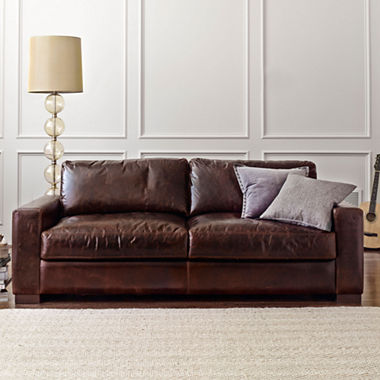 Jcpenney Signature Leather Sofa