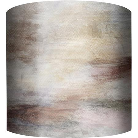 northern lights drum lamp shade