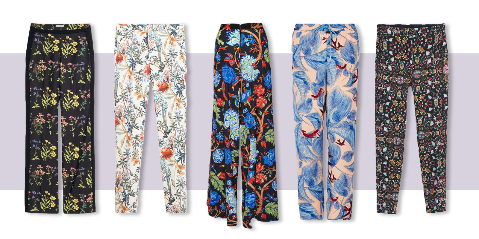 10 Best Printed Pants for Women 2018