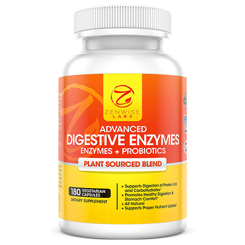 Stomach enzyme supplements
