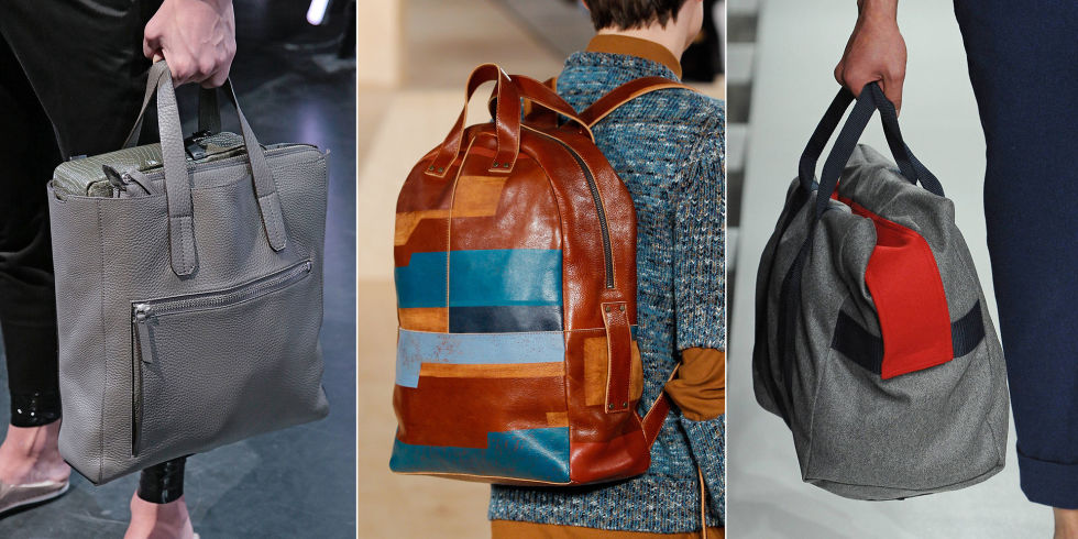 5 Best Men's Bags From NYFWM 2017 - Men's Designer Bags