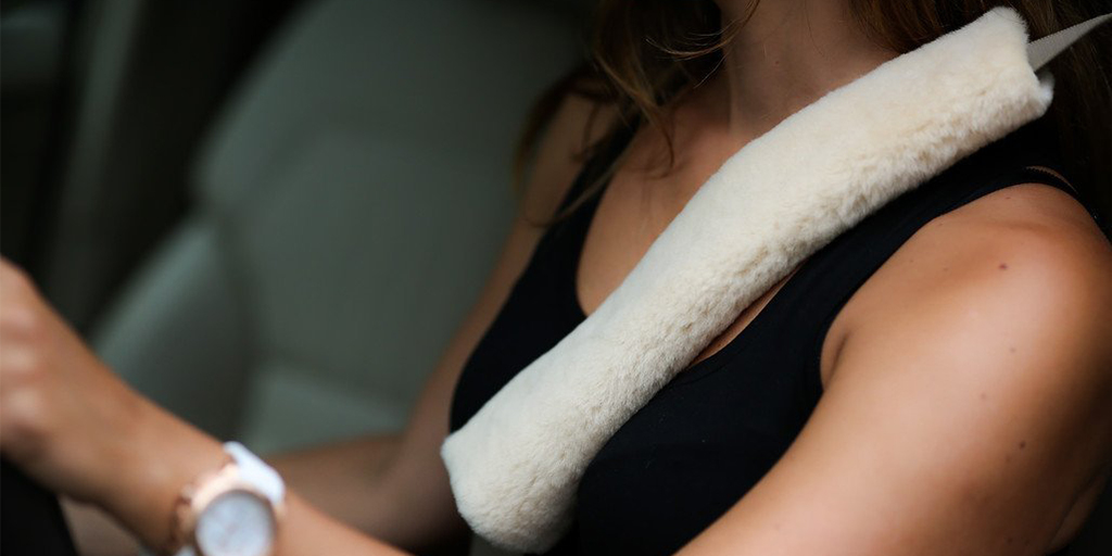 Padded Car Seat Strap Covers