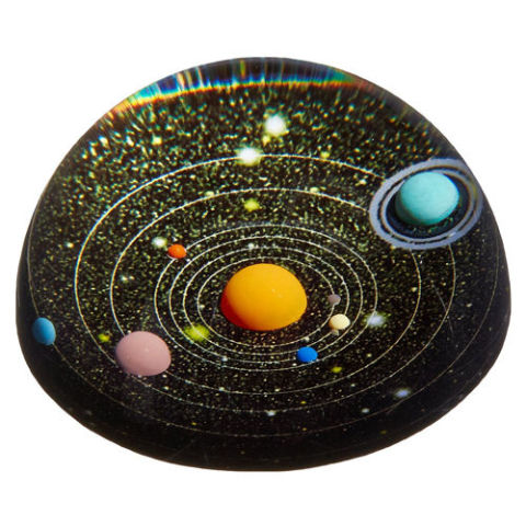 10 best paperweights for your desk in 2018 unique and glass kikkerland planetarium paperweight malvernweather Gallery