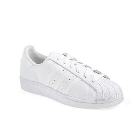 $80 BUY NOW Cue the nostalgia. These adidas sneakers are an icon, and we love to see their star rising once again. The black-and-white combo is a popular choice, but they look extra fresh in solid white leather. More: Fashion Sneakers to Wear Outside the Gym