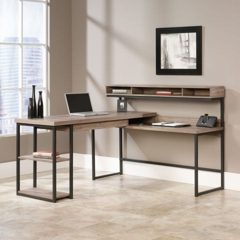 comkeep a light look in the office with this l shaped 310 buy now buy shape home office