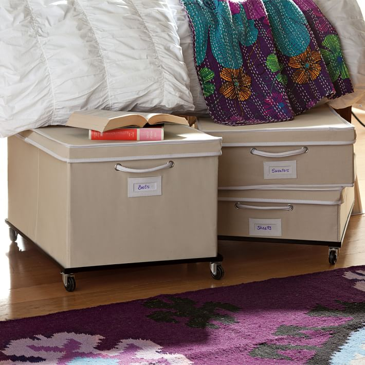 9 best underbed storage items in 2017 underbed storage - Dorm underbed storage ideas ...