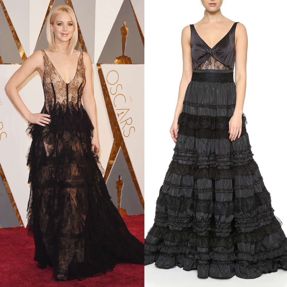 2017 Best Oscars Dresses Red Carpet From The