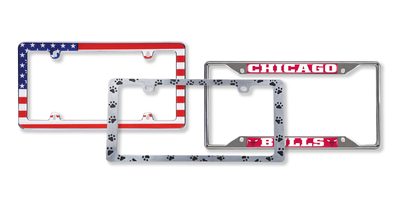 License Plate Covers amp Frames Automotive  amazoncom