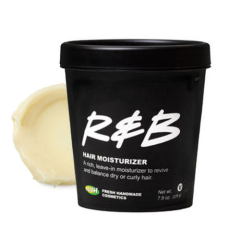 from $25, lushusa.com Got frizz? Control fly-aways with Lush's smooth R&B blend that keeps unruly curls in check. Formulated with organic avocado butter, oatmeal, and candelilla wax, it works best on African or extremely curly hair by providing enough moisture to calm humidity-stricken strands.
