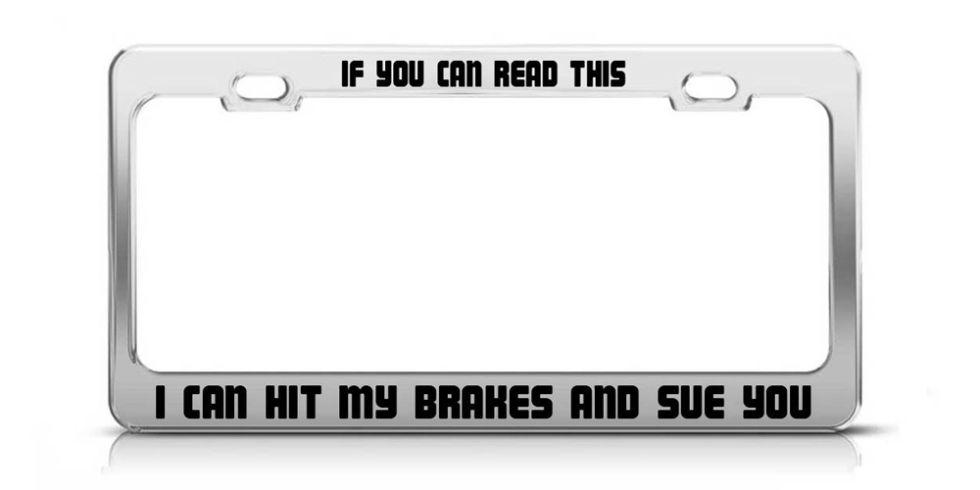 license plate frame - Dodge License Plate Frame