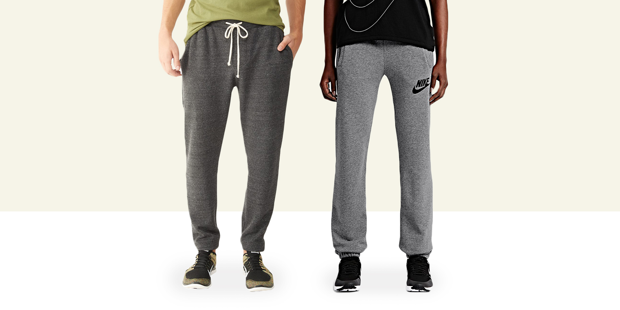 Even five years ago, we would have laughed off the idea of sweatpants as a vital part of a modern guy's wardrobe. The idea of