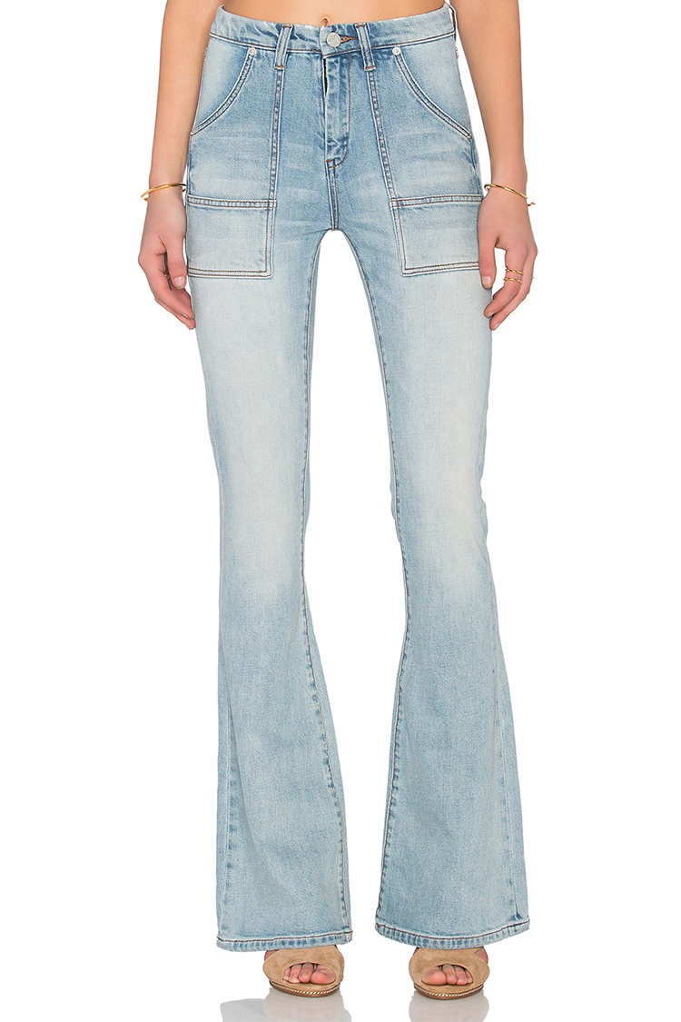 12 Best Flared and Wide Leg Jeans of 2017 - Summer Denim Trends
