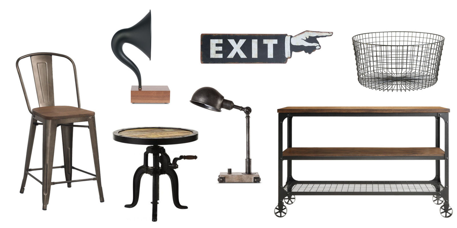 12 best industrial decor and furniture of 2018 ideas for for Best home decor items
