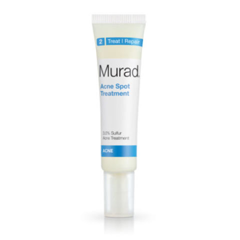 $18, murad.com Feel a pimple coming on? Murray's Acne Spot Treatment is made from a powerful blend of sulfur and salicylic acids that demolishes any chance of acne taking its full form, without drying out skin in the process.