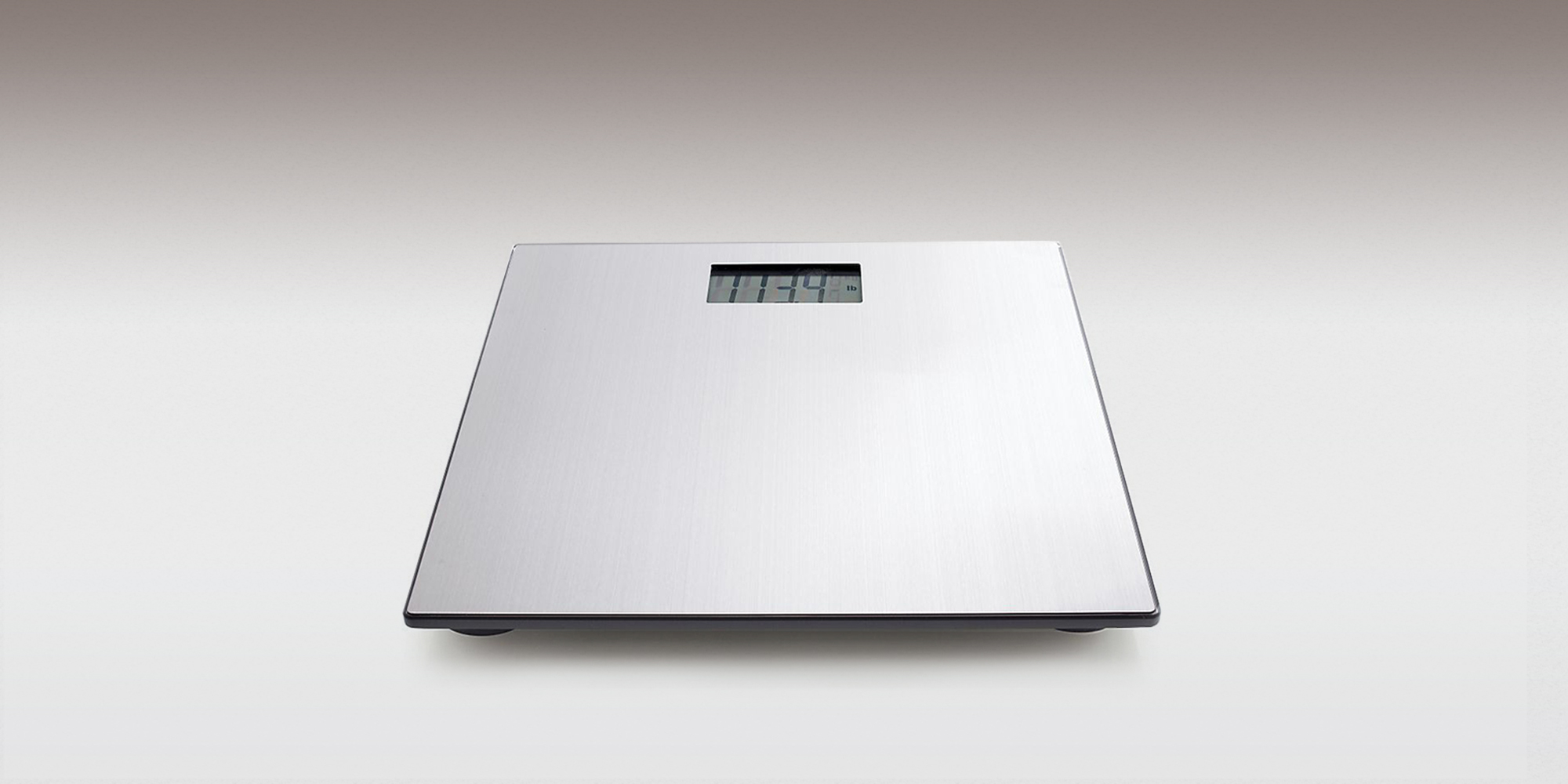 Bathroom scales at