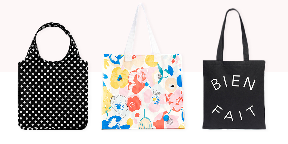 9 Best Reusable Shopping Bags and Totes 2017 - Cute Eco-Friendly ...