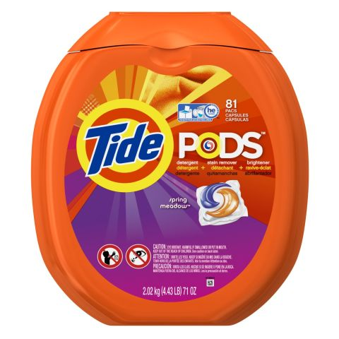 Tide PODS Spring Meadow HE Turbo Laundry Detergent Pacs
