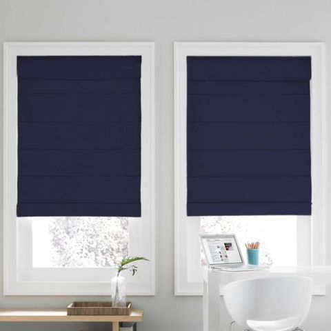 9 Best Roman Shades And Blinds 2018 Structured Roman