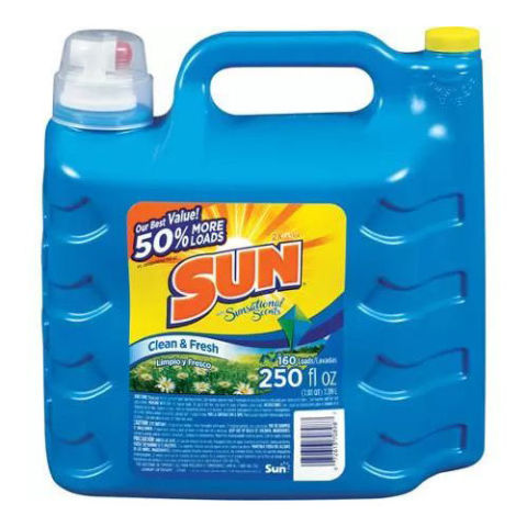 Sun Ultra Concentrated Clean & Fresh Liquid Laundry Detergent