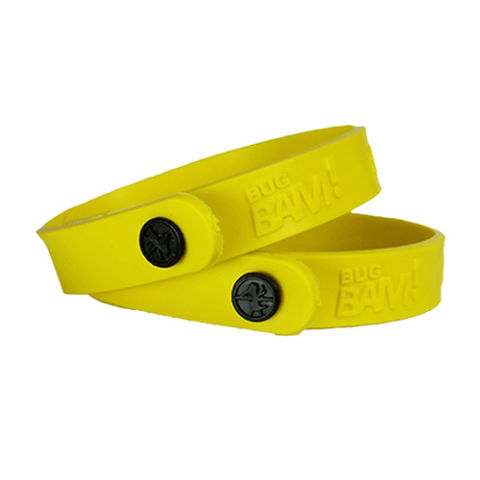 Bug Bam Insect Repellent Wristbands