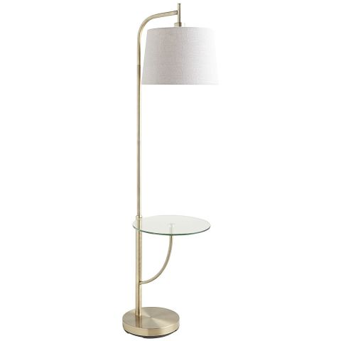 13 best standing floor lamps in 2018 modern floor lamps for any room pier 1 imports travis tray floor lamp aloadofball Images