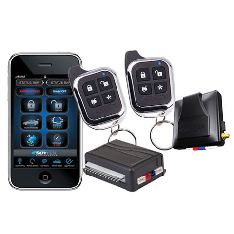 Car Alarm Security Systems on gps tracking car