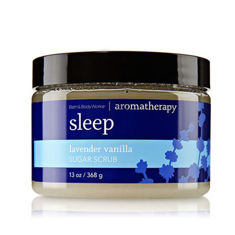 $16, bathandbodyworks.com A must-have scrub for those after-hour showers, this particular blend of essential oils and natural ingredients works to relax the mind as well as your skin for a gentle groom and easy sleep.