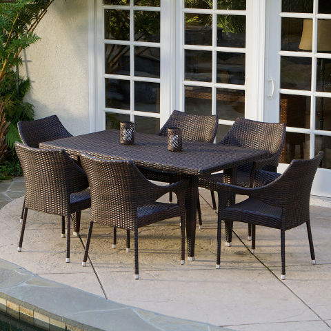 Mercury Row Nevius Outdoor Dining Set11 Best Patio Dining Sets for 2017   Outdoor Patio Furniture  . Extendable Outdoor Dining Sets. Home Design Ideas