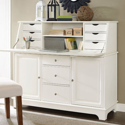 Crosley Sullivan Secretary Desk