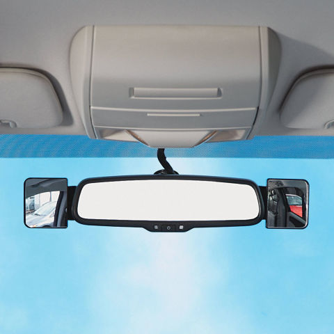 12 best blind spot mirrors for your car 2018 blind spot and side view mirrors. Black Bedroom Furniture Sets. Home Design Ideas