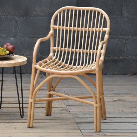 Antique Revival Birdie Arm Chair - 2018's Best Rattan Garden Furniture - Rattan And Wicker Patio