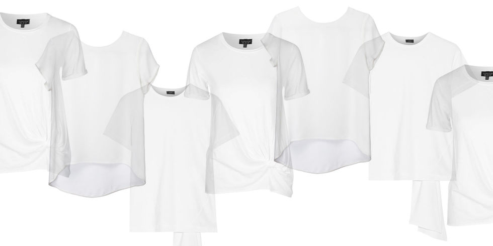 10 Best White T-Shirts for Women 2017 - White T Shirts That Aren't ...