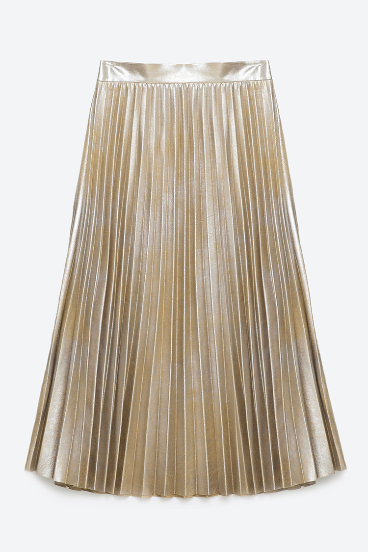 10 best pleated midi skirts for summer 2016 leather a