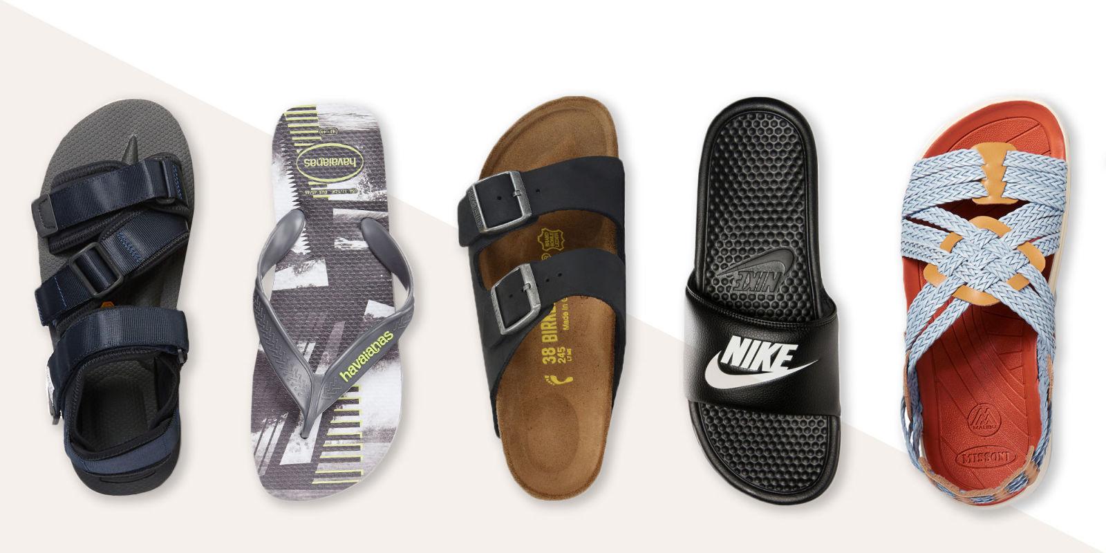 10 Best Men's Sandals for Summer 2017 - Stylish Flip Flops ...