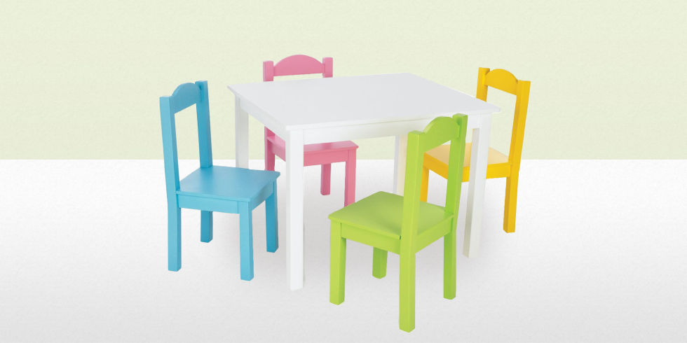 Amazoncom KidKraft Farmhouse Table and Chair Set Toys