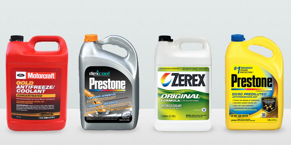 7 Best Coolants for Every Vehicle 2017  Types of Coolant and