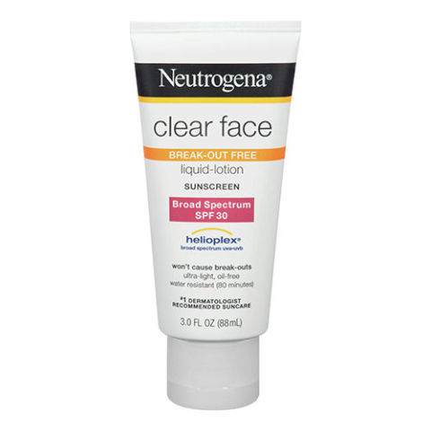 Suncreen for face