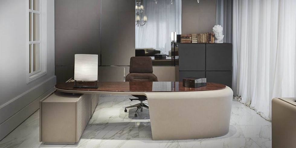Bentley Home Collection President Desk