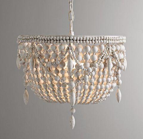 best beaded chandeliers   beautiful wood chandeliers with beads, Lighting ideas