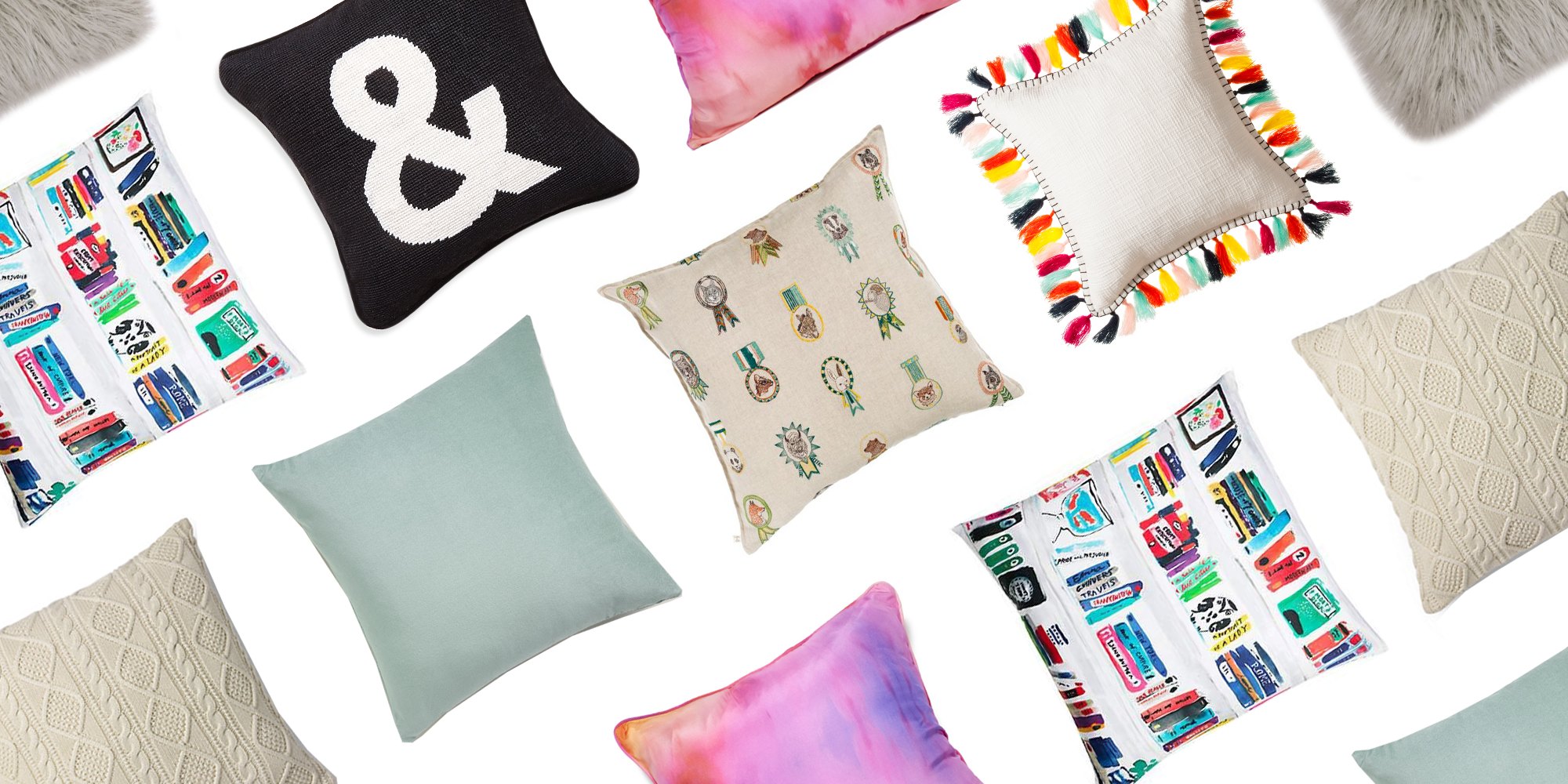 How To Choose The Right Throw Pillows : 14 Best Decorative Throw Pillows in 2017 - Comfy Couch Throw Pillows