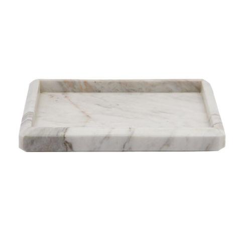 Waterworks Studio Mona Marble Soap Dish