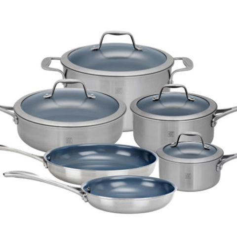 18 Best Cookware Sets In 2017 Non Stick And Stainless