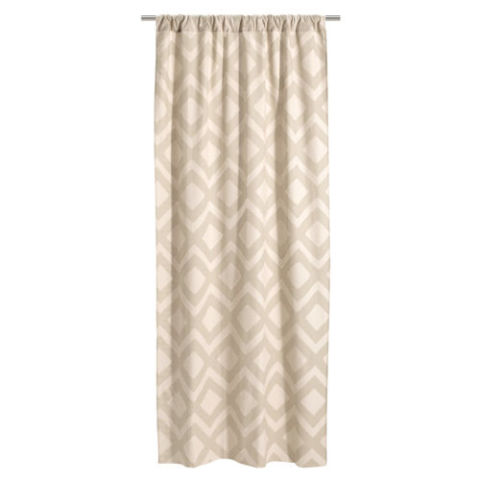 hu0026m 2pack patterned curtains